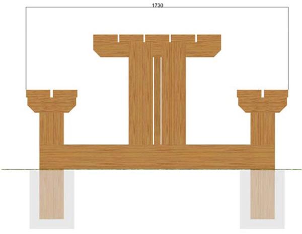 Profil de la table de jardin Beausoleil